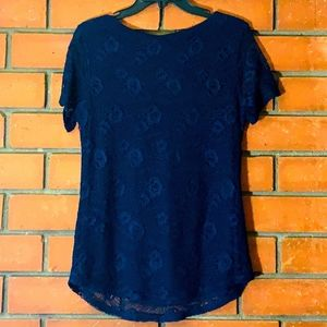 Leo & Nicole - S, Lace Top with  Lining - NWT!